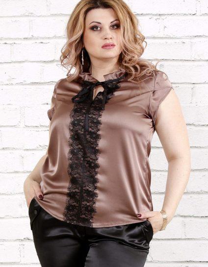 Большой выбор женских блузок больших размеров