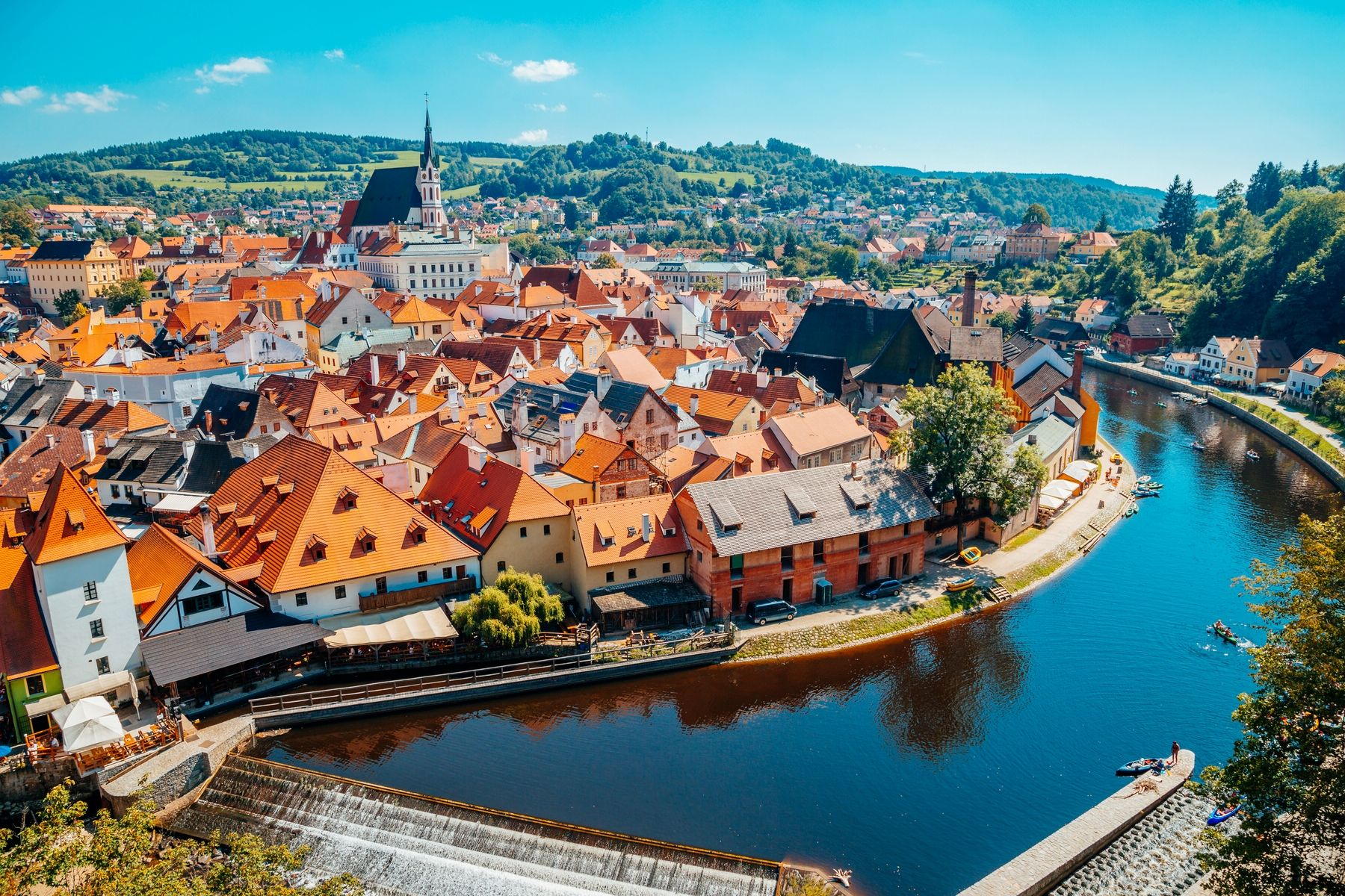 Маленьке місто Чехії: Ческі-Крумлов
