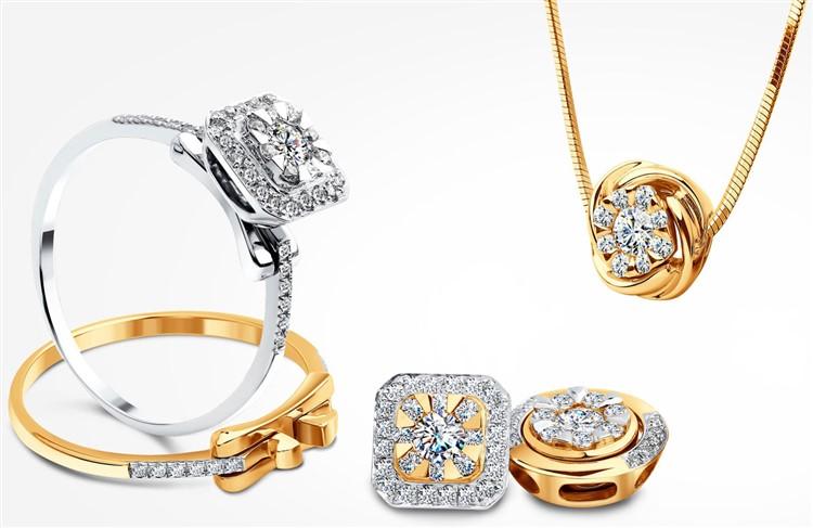 Большой выбор красивых ювелирных украшений из серебра и золота