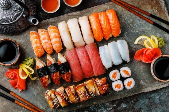 Доставка суши и прочих японских блюд в Москве